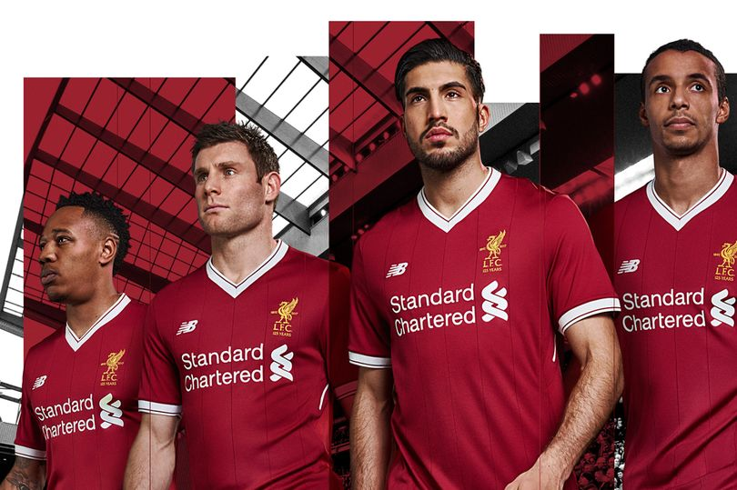 sports shoes 84214 3af3f Liverpool FC's 2017-2018 Home Kit Unveilled - Sports Matters TV