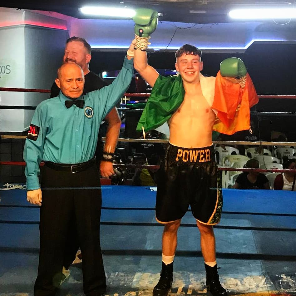 James Power Wins 2nd Pro Fight In Mexico